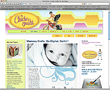 Chicks Guide website screenshot thumbnail