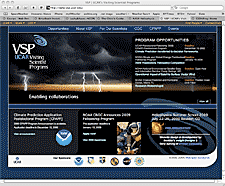 UCAR VSP website screenshot thumbnail